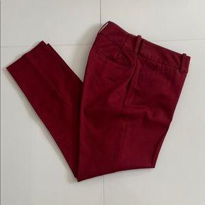 Merona Maroon Casual Dress Pants Size 4